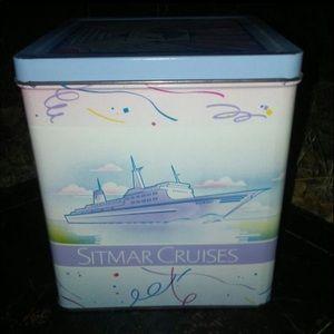 Vintage Sitmar Cruise Tin